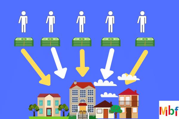 crowdfunding immobiliare infografica