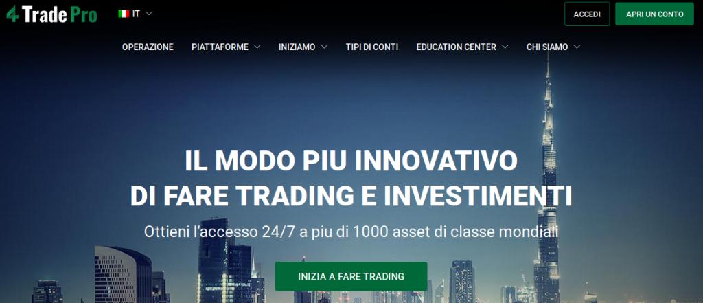 Fore Trade Pro truffa