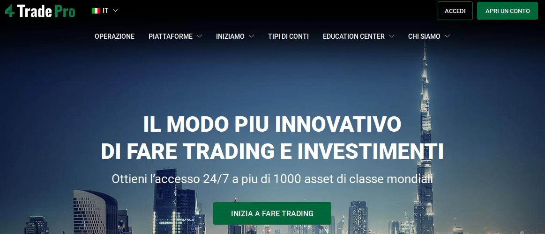 For Trade Pro Truffa o Affidabile? Opinioni e Recensioni