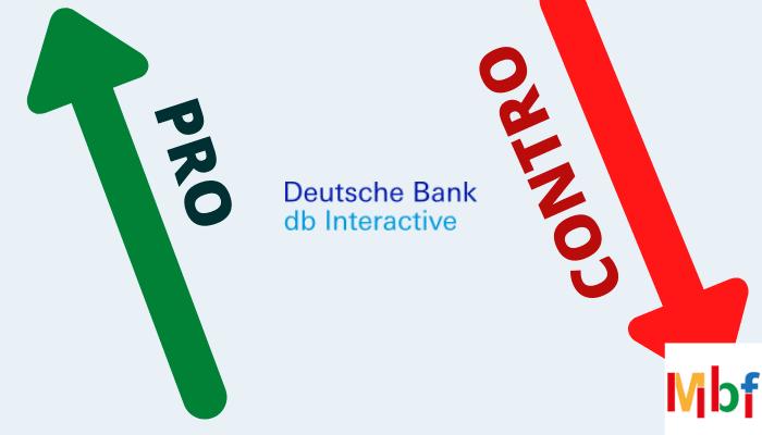 db interactive trading online pro e contro