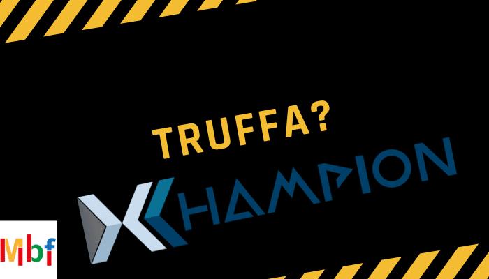 XChampion Holding, cos'è? Affidabile o truffa? Recensioni ed Opinioni