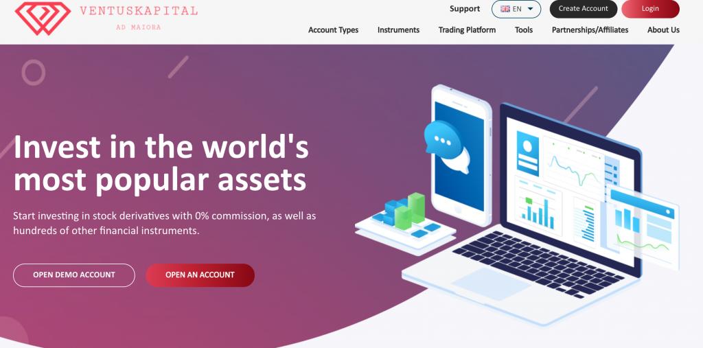 Ventus Kapital è un broker sicuro ed affidabile o solamente la consueta truffa?