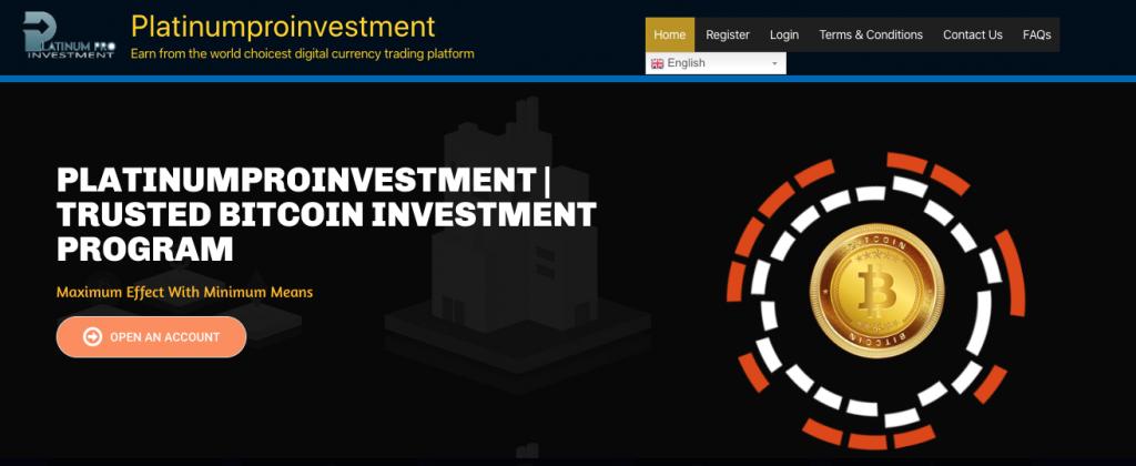 Platinumpro investiment è un broker buono ed affidabile per fare trading online o una truffa?