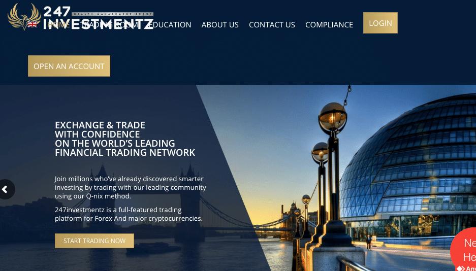 247investmentz è un broker sicuro ed affidabile o una truffa? leggi qui la nostra recensione