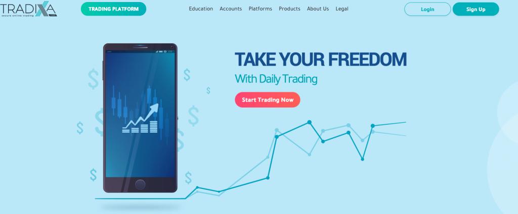 tradixia è un broker sicuro e regolare o un broker truffa?