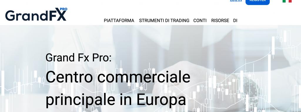 Grand FX PRO è una truffa o un broker affidabile? Leggi qui la nostra recensione - esclusiva by Migliorbrokerforex.net