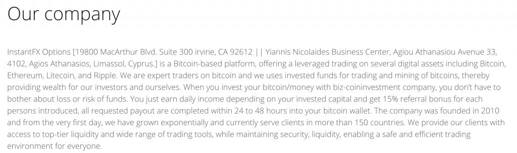 instantfx sito truffaldino o broker regolare ? migliorbrokerforex.net ha indagato - ecco qui cosa abbiamo scoperto.