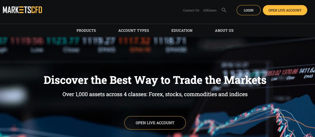 MarketsCFD è una truffa? Leggi cosa ha scoperto migliorbrokerforex.net