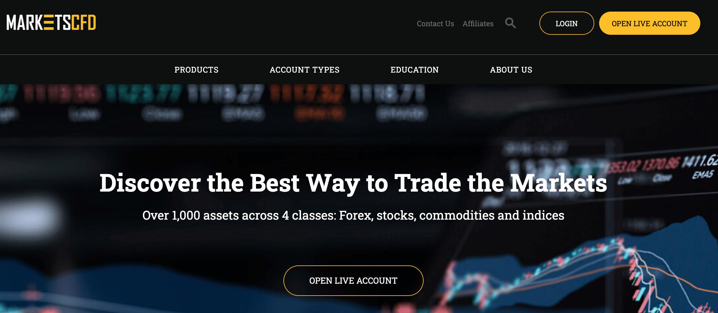MarketsCFD è una Truffa? Opinioni e recensioni