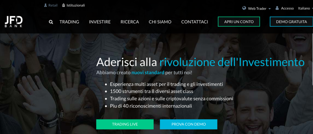 JFD Bank è un broker CFD e diretto. Ma conviene davvero per investire?