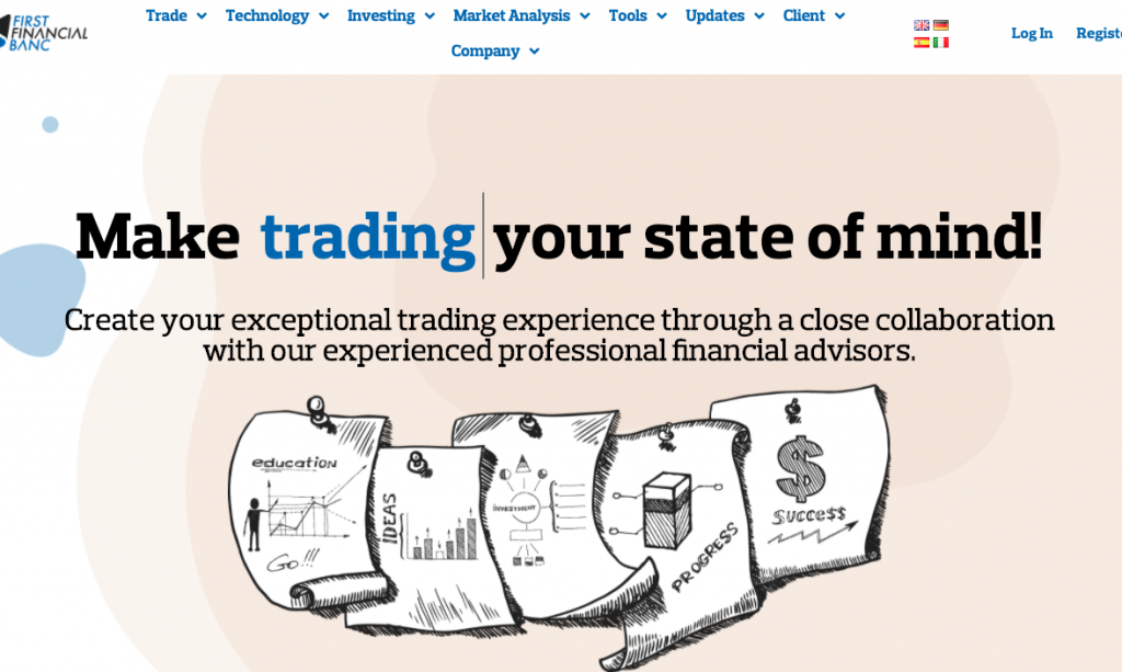 Trading innovativo o solita truffa? Scopri quello che abbiamo scoperto su First Financial Banc