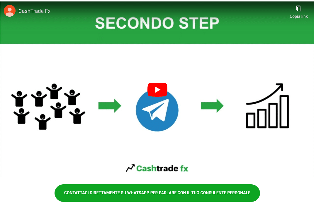 CashTrade FX Funziona o Truffa? Opinioni e recensioni