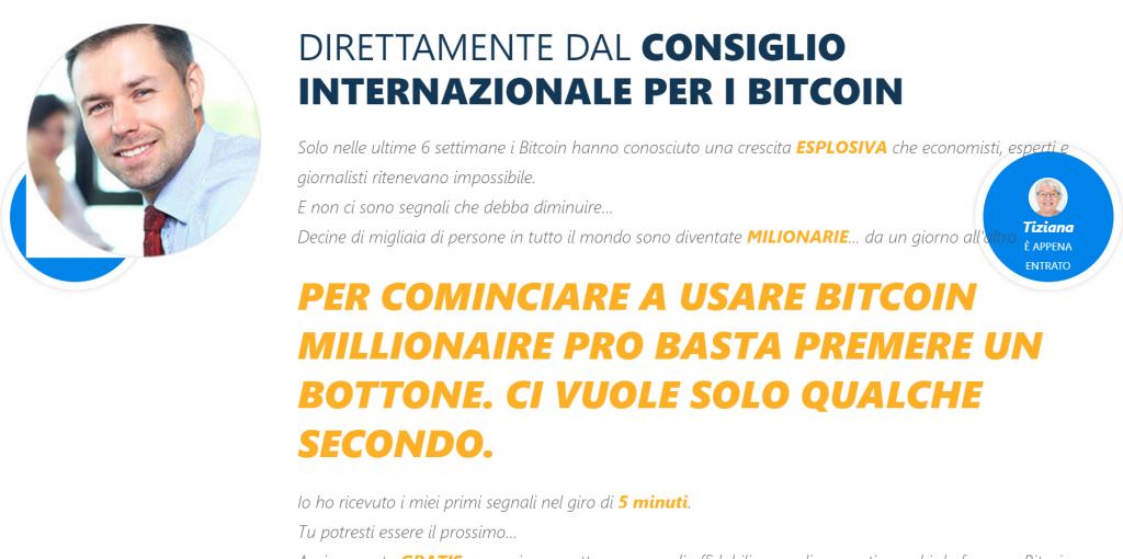 bitcoin millionaire pro è una truffa