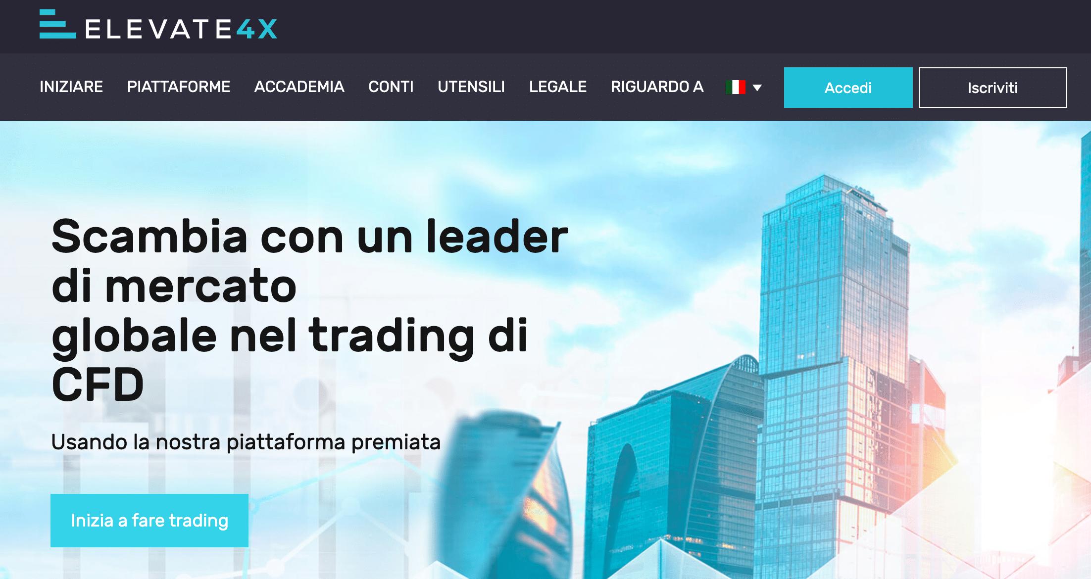 conto di trading 4x strategie forex cosa ci vuole per il successo