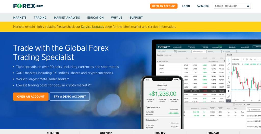Forex.com sarà un broker all'altezza?