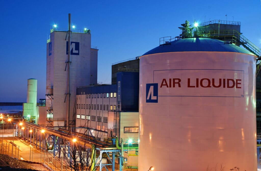 Air Liquide è leader dei gas industriali