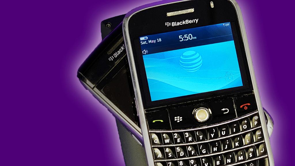 Ecco cosa offriva, fino a qualche tempo fa, Blackberry