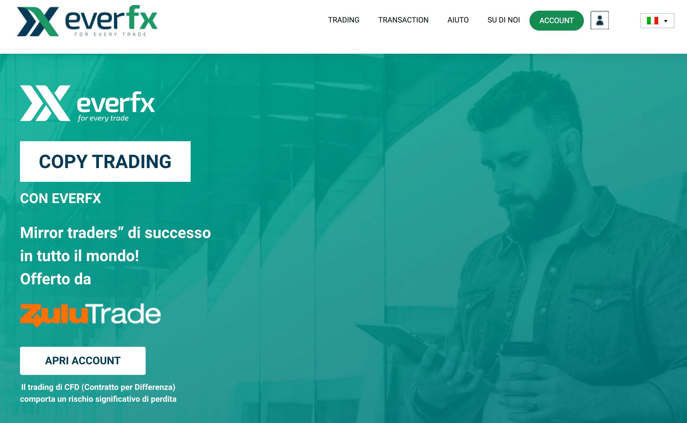 EverFX Truffa o Affidabile? Recensioni ed Opinioni
