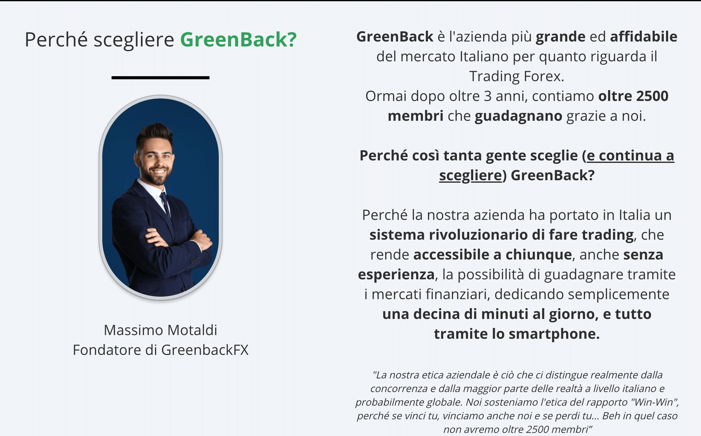 GreenBackFXTrading Truffa o Funziona? Recensioni ed Opinioni