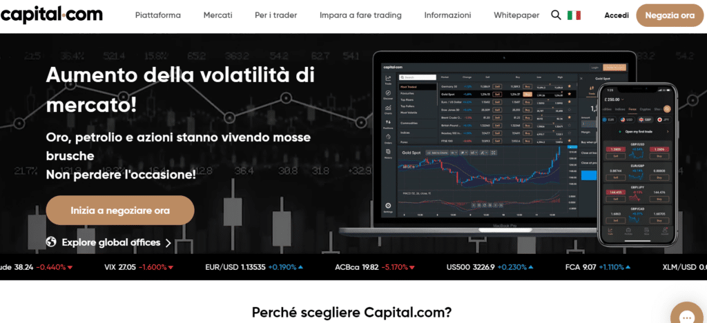 Capital.com intelligenza artificiale segnali
