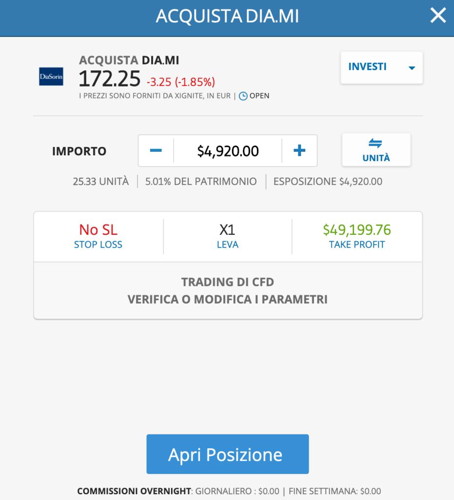 Come comprare azioni DiaSorin
