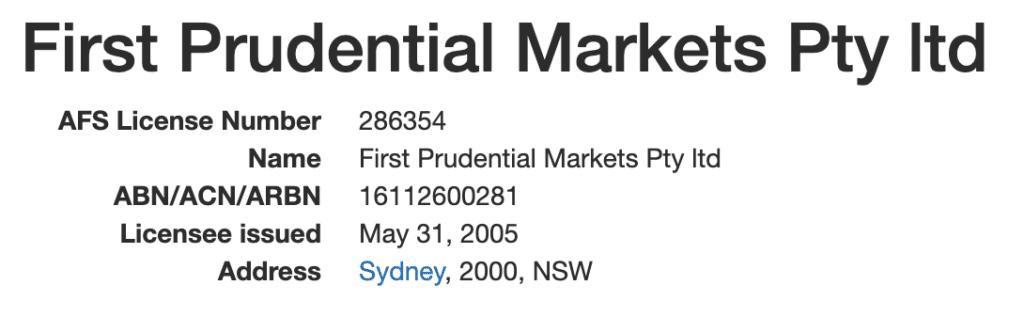 Licenze e regolamentazioni di FP Markets