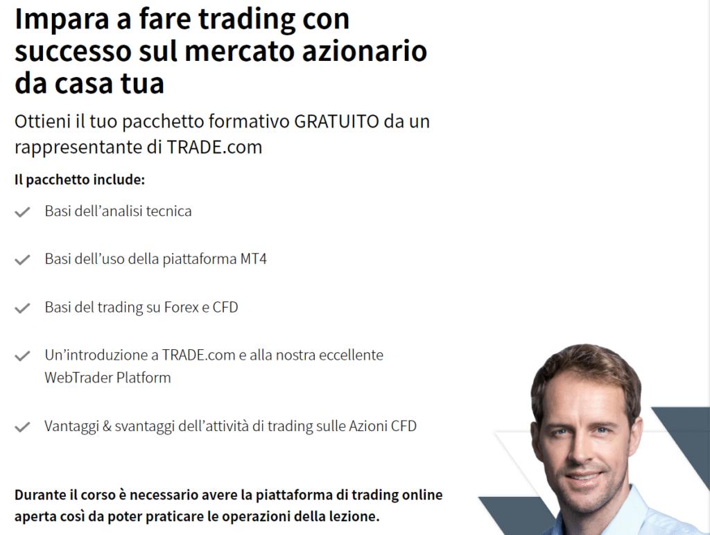corso trading gratis trade.com