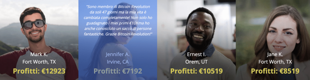 Bitcoin Revolution recensioni false