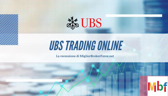 UBS trading online conviene