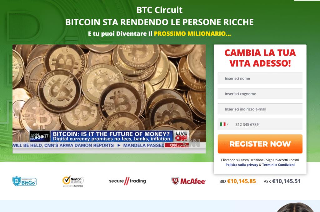 bitcoin circuito sito web ufficiale - truffa o funziona? opinioni e recensioni di migliorbrokerforex.net.