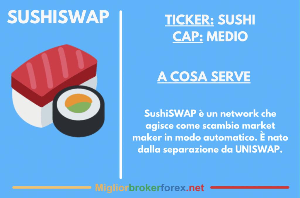 Scheda riassuntiva su SushiSWAP