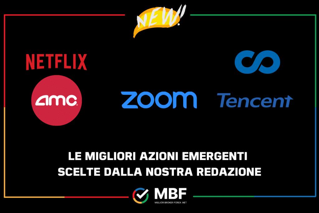 Azioni da comprare emergenti - di MigliorBrokerForex.net